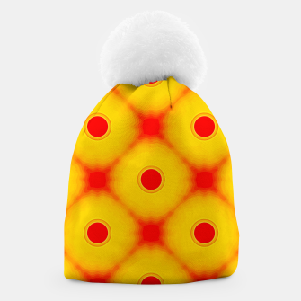 Watercolor peaches Gorro miniature