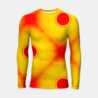 Watercolor peaches Longsleeve rashguard miniature