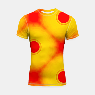 Miniature de image de Watercolor peaches Shortsleeve rashguard, Live Heroes