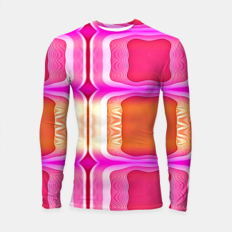Watercolor Hebi Longsleeve rashguard miniature