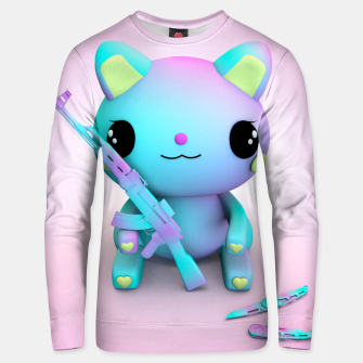 Thumbnail image of Pastel Kitty Unisex sweater, Live Heroes