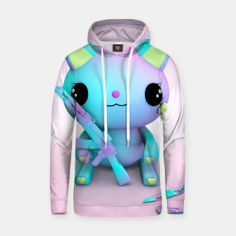 Thumbnail image of Pastel Kitty Hoodie, Live Heroes