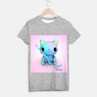 Thumbnail image of Pastel Kitty T-shirt regular, Live Heroes