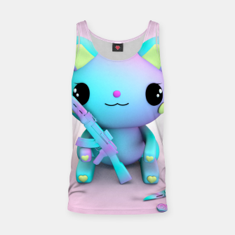 Thumbnail image of Pastel Kitty Tank Top, Live Heroes
