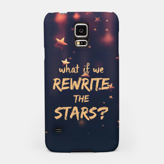 Miniatur Rewrite the Stars Samsung Case, Live Heroes