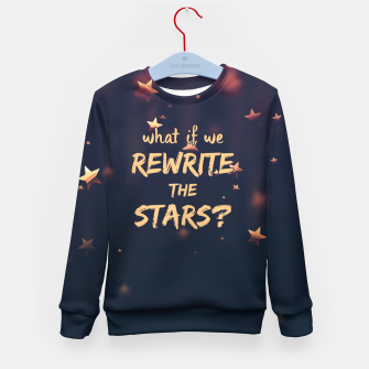 Miniatur Rewrite the Stars Sweatshirt, Live Heroes