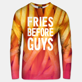 Miniatur Fries Sweatshirt, Live Heroes