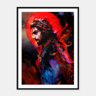 Thumbnail image of musashi Framed poster, Live Heroes