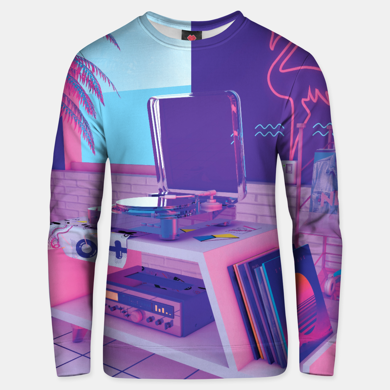 Image of spinningwave Unisex sweater - Live Heroes