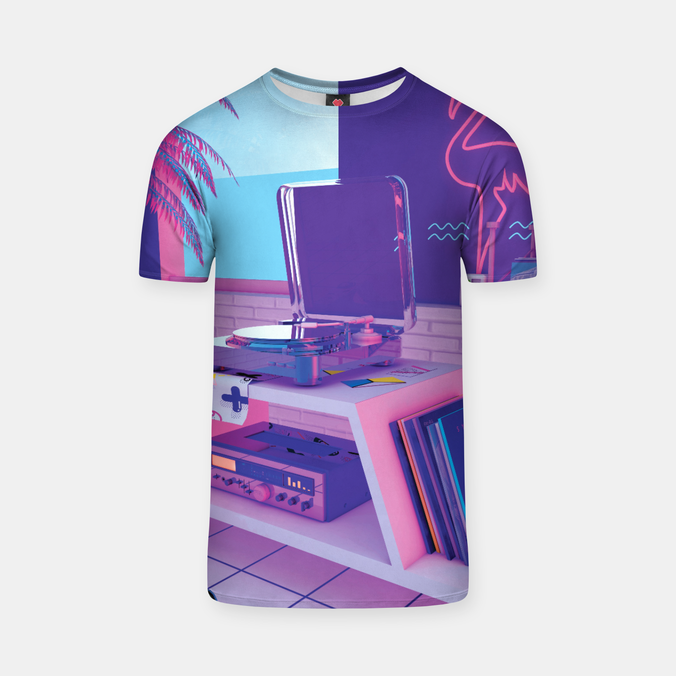 Image of spinningwave T-shirt - Live Heroes