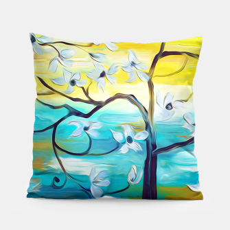 Thumbnail image of PRETTY TREE Pillow, Live Heroes