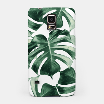 Thumbnail image of Tropical Monstera Leaves Dream #2 #tropical #decor #art Handyhülle für Samsung, Live Heroes