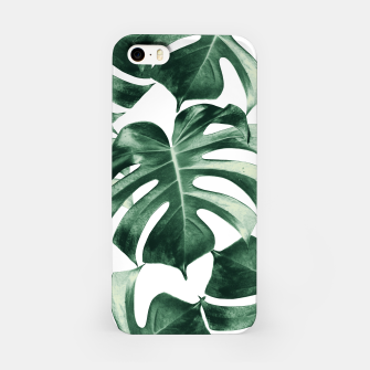 Thumbnail image of Tropical Monstera Leaves Dream #2 #tropical #decor #art iPhone-Hülle, Live Heroes