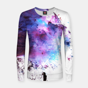 Imagen en miniatura de Purple and Blue abstract Sudadera para mujeres, Live Heroes