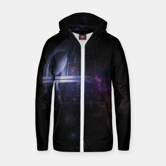 Miniatur No Moon Zip up hoodie, Live Heroes