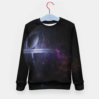 Miniatur No Moon Kid's sweater, Live Heroes