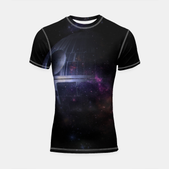Thumbnail image of No Moon Shortsleeve rashguard, Live Heroes