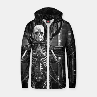 The Quantum Reaper Zip up hoodie thumbnail image