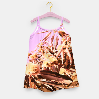 Thumbnail image of Chestnut Tree Impressions on purple Girl's dress, Live Heroes