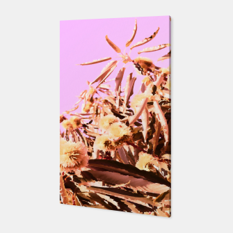 Thumbnail image of Chestnut Tree Impressions on purple Canvas, Live Heroes