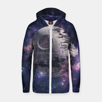 Thumbnail image of Fully Operational Zip up hoodie, Live Heroes