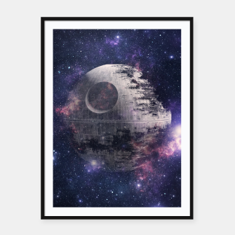 Thumbnail image of Fully Operational Framed poster, Live Heroes