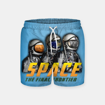 Thumbnail image of Dude's Swim Shorts, Live Heroes