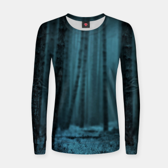 Thumbnail image of Midnight Forest Frauen sweatshirt, Live Heroes