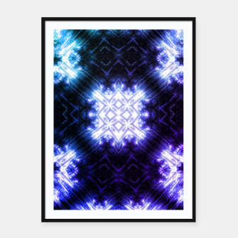 Thumbnail image of Ice RUNE Framed poster, Live Heroes