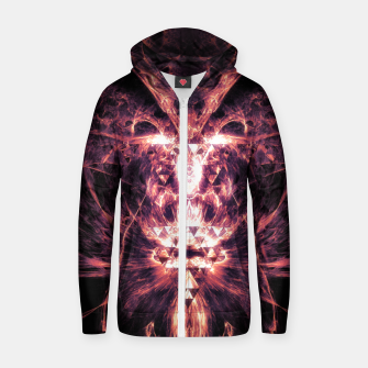 Thumbnail image of Badass Zip up hoodie, Live Heroes