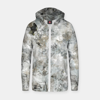 Thumbnail image of Winter Camouflage 01 Zip up hoodie, Live Heroes