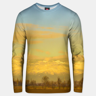 Thumbnail image of Piamonte Landscape Afternoon Scene, Italy Unisex sweater, Live Heroes