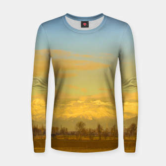 Thumbnail image of Piamonte Landscape Afternoon Scene, Italy Women sweater, Live Heroes
