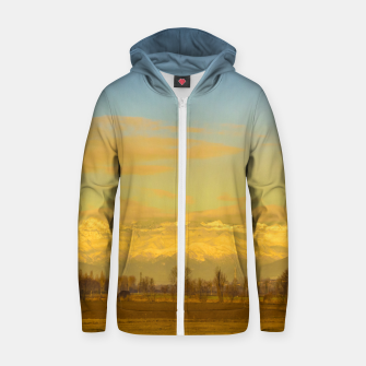 Thumbnail image of Piamonte Landscape Afternoon Scene, Italy Zip up hoodie, Live Heroes
