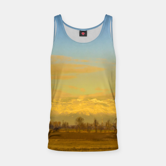 Thumbnail image of Piamonte Landscape Afternoon Scene, Italy Tank Top, Live Heroes