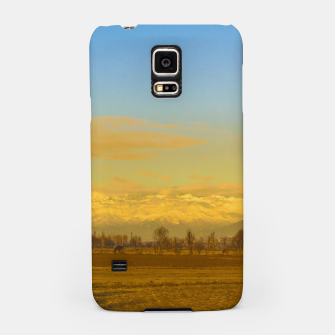 Thumbnail image of Piamonte Landscape Afternoon Scene, Italy Samsung Case, Live Heroes