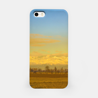 Thumbnail image of Piamonte Landscape Afternoon Scene, Italy iPhone Case, Live Heroes