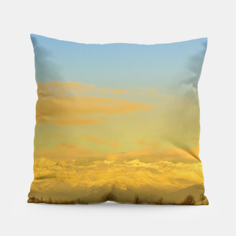 Thumbnail image of Piamonte Landscape Afternoon Scene, Italy Pillow, Live Heroes