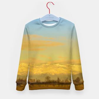 Thumbnail image of Piamonte Landscape Afternoon Scene, Italy Kid's sweater, Live Heroes