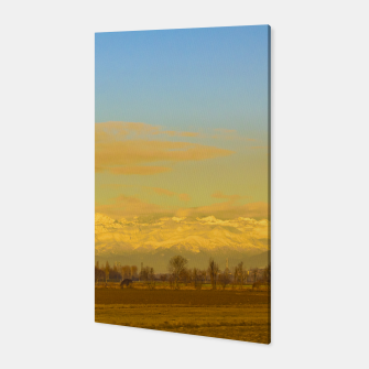 Thumbnail image of Piamonte Landscape Afternoon Scene, Italy Canvas, Live Heroes
