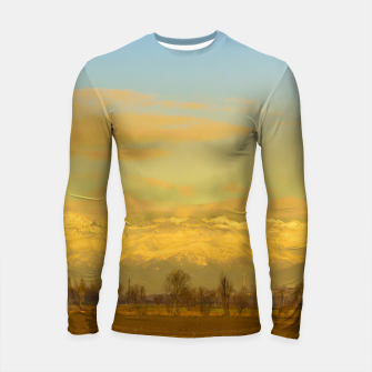 Thumbnail image of Piamonte Landscape Afternoon Scene, Italy Longsleeve rashguard , Live Heroes