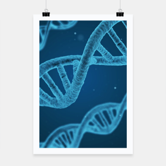 Thumbnail image of Dna cyber Poster, Live Heroes