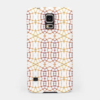 Thumbnail image of Bright Modern Interlace Print Pattern Samsung Case, Live Heroes