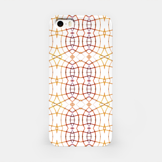 Miniatur Bright Modern Interlace Print Pattern iPhone Case, Live Heroes