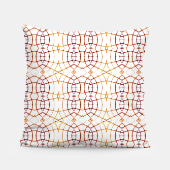 Miniatur Bright Modern Interlace Print Pattern Pillow, Live Heroes