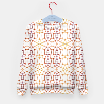 Thumbnail image of Bright Modern Interlace Print Pattern Kid's sweater, Live Heroes