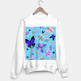 Thumbnail image of Spectrum colorful artistic design butterfly pattern Sweater regular, Live Heroes