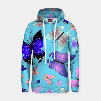 Thumbnail image of Spectrum colorful artistic design butterfly pattern Hoodie, Live Heroes