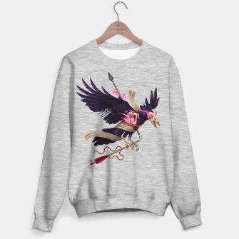 Thumbnail image of Magic Fire - Undead Crow Sweater regular, Live Heroes