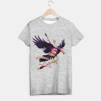 Thumbnail image of Magic Fire - Undead Crow T-shirt regular, Live Heroes